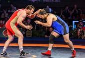 125kg: #6 Komeil Ghasemi (IRI) dec. Muradin Kushkhov (RUS), 3-2