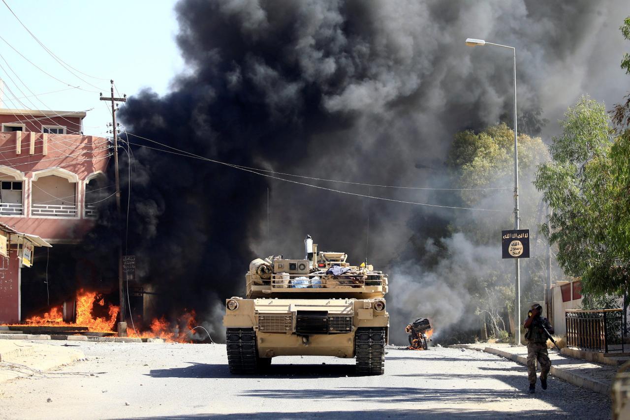 """آزاد سازی نودو پنج در صد شهر """" تلعفر"""" بدست نظامیان عراق"""