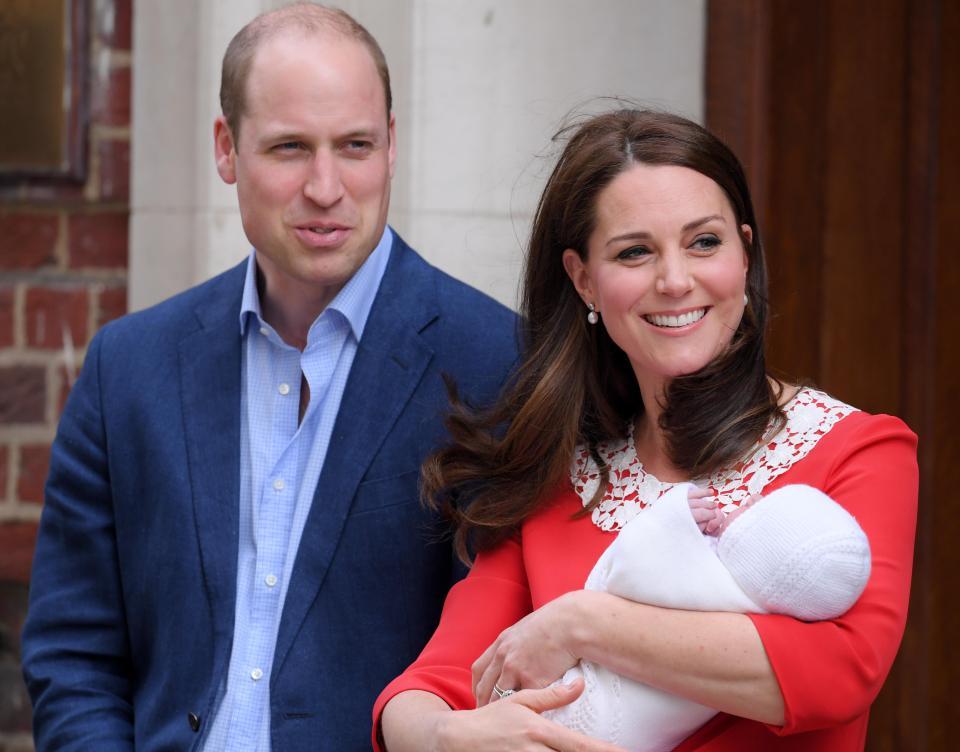 سومین فرزند شاهزاده ویلیام و کیت میدلتون بدنیا آمد