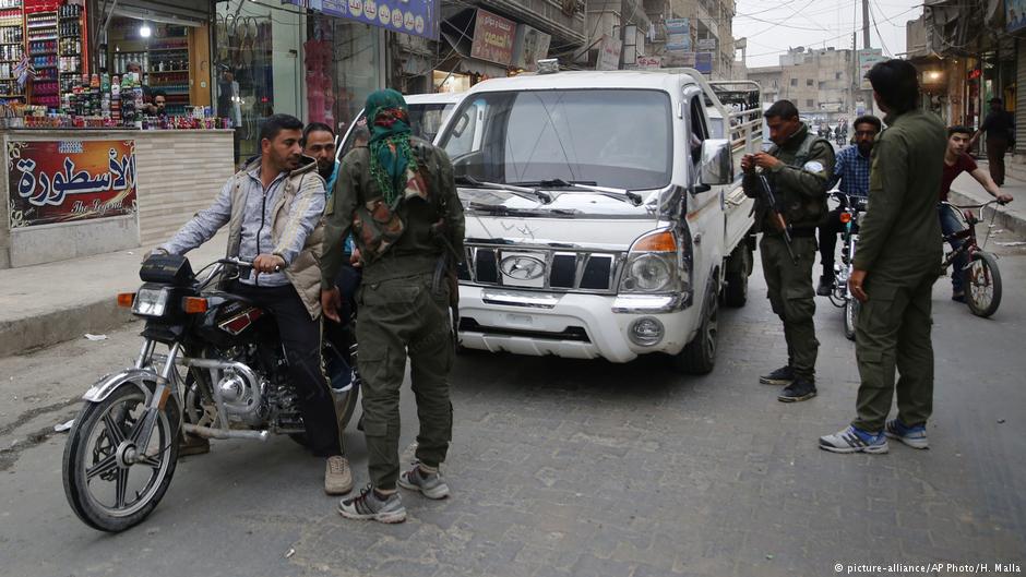 پشت پای امریکا شبهنظامی یگانهای مدافع خلق – یپگ در سوریه