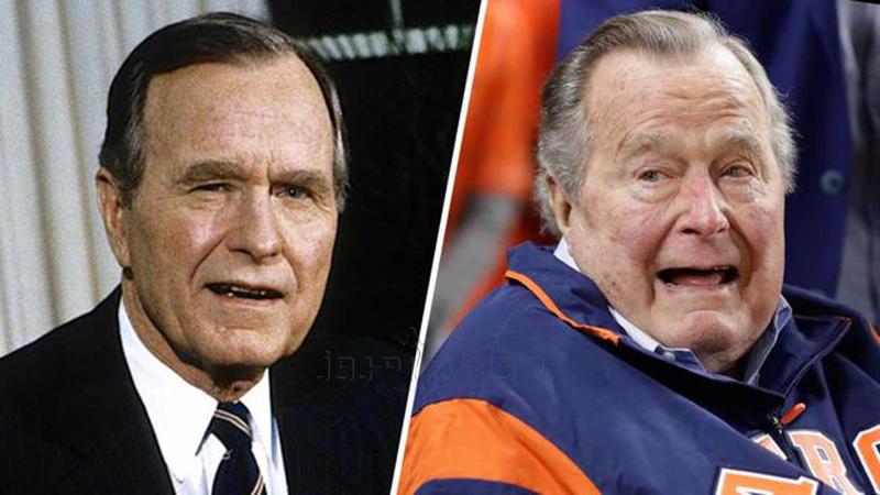 جرج بوش پدر چهل و یکمین رئیس جمهور امریکا در سن نود و چهار سالگی درگذشت