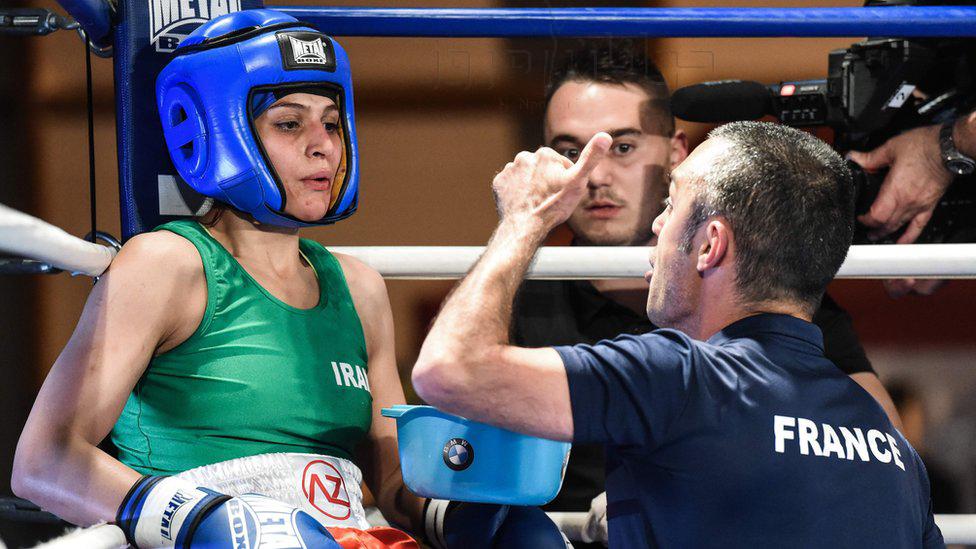 اولین بکسور زن ایرانی در فرانسه تاریخ ساز شد
