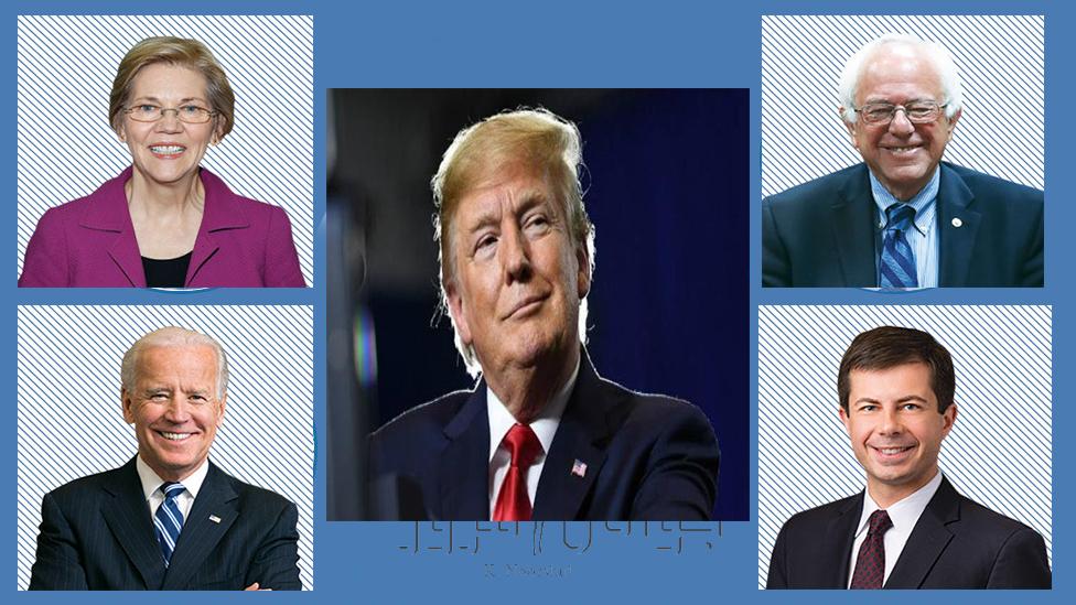 در انتخابات پیش روکدام رقیب دونالد ترامپ از وی پیشی خواهد گرفت ؟